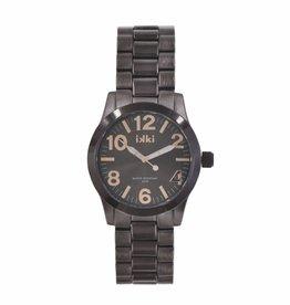 Uitverkoop IKKI Lauren taupe / rose gold horloge LA-08 dames