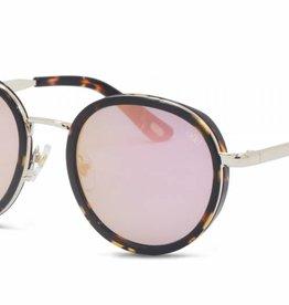 Uitverkoop IKKI zonnebril Belle tortoise - flash pink 31-2