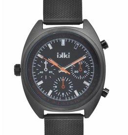 Uitverkoop IKKI Maxwell black horloge MX08