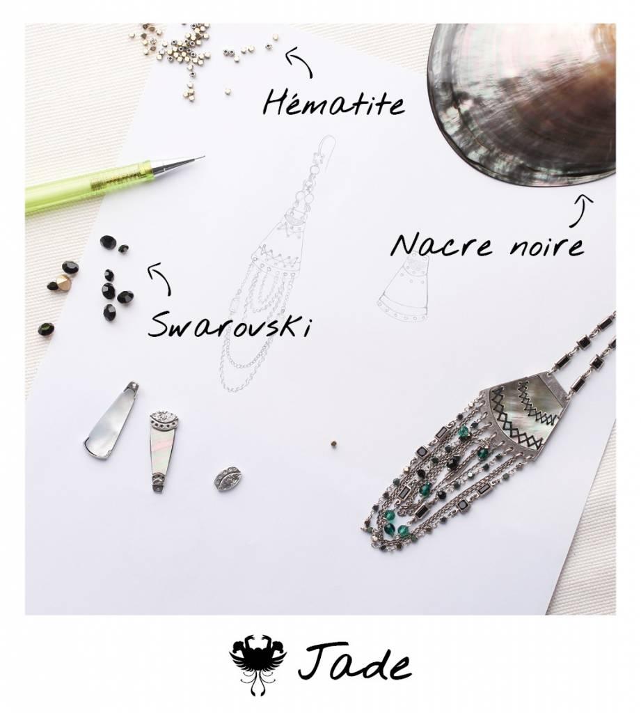 Halsketting Jade 15 -- 61722