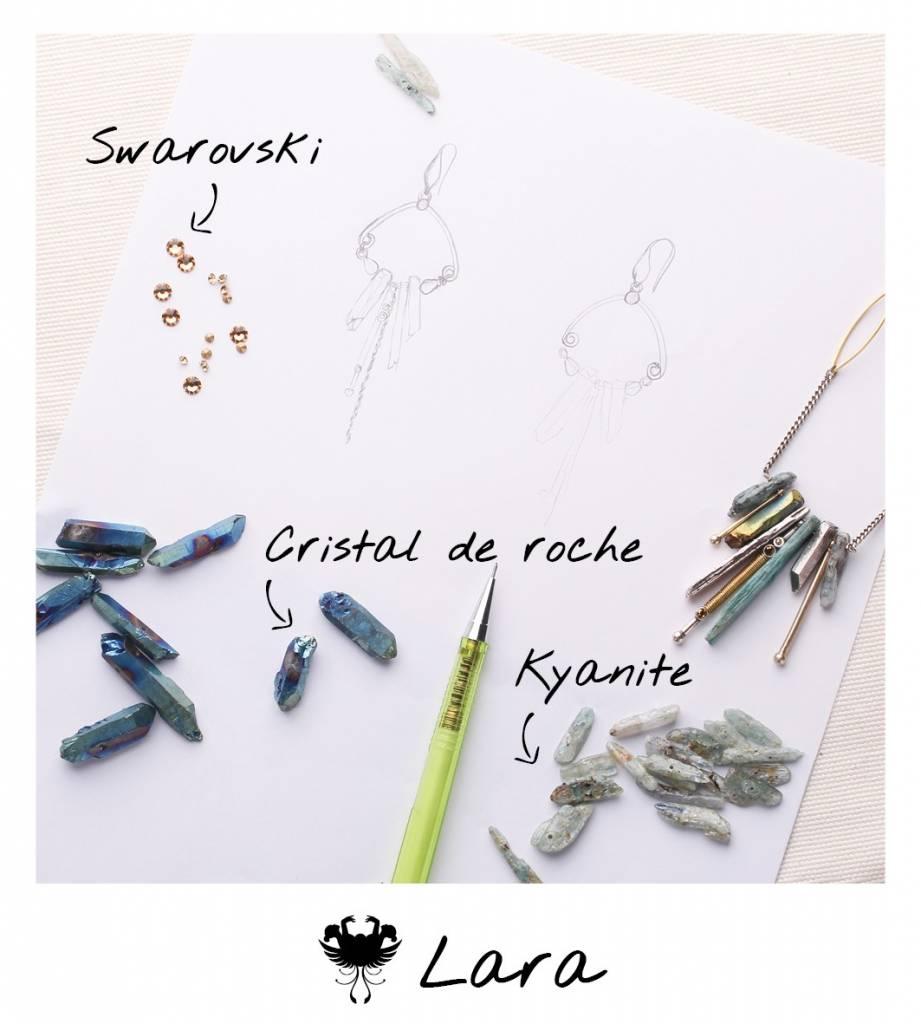 Oorhangers Lara 12 -- 63514