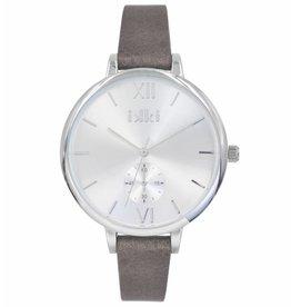 Uitverkoop IKKI Estelle brown/silver horloge ET11