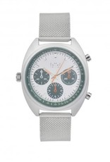 IKKI Maxwell silver/green horloge MX06