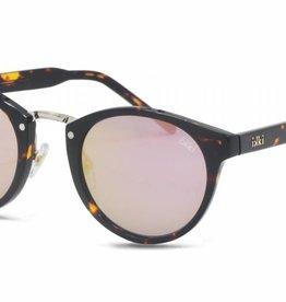Uitverkoop IKKI zonnebril Rosie tortoise/flash pink  green  37-3