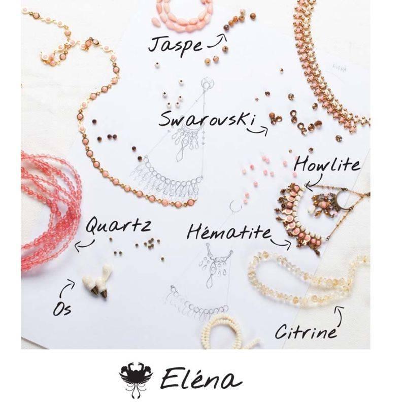 NIEUW Franck Herval oorbellen collectie Elena