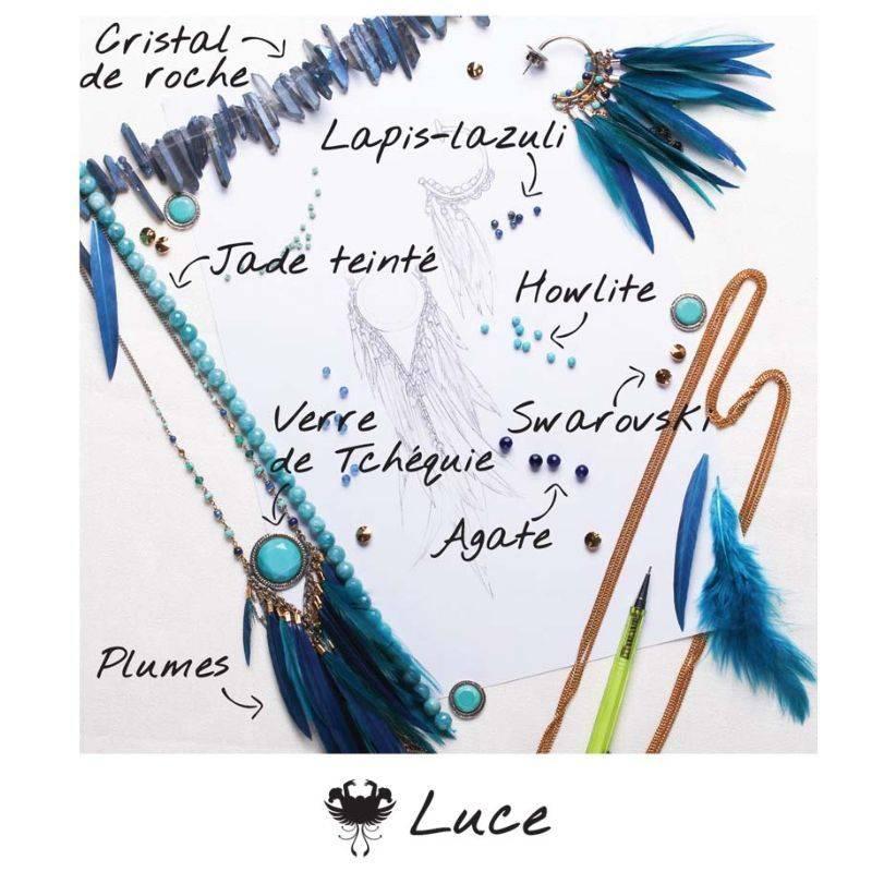 NIEUW Franck Herval oorbellen collectie Luce