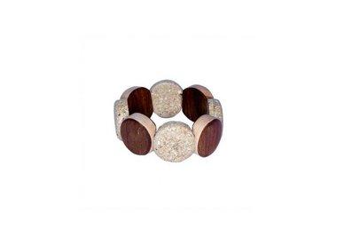 Uitverkoop Ernesto de Barcelona - Houten armbanden