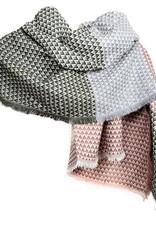 Tantrend Sjaal met geometrische retro driehoeken