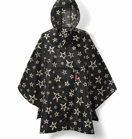 Mini maxi poncho stars