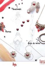 NIEUW Franck Herval oorbellen collectie Lys