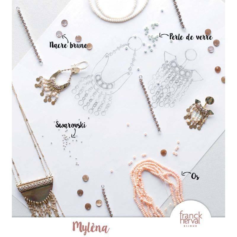 NIEUW Franck Herval oorbellen collectie Mylena