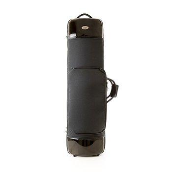 BAGS 2er Posaunen Formkoffer (Alt+Tenor) – Farbe: schwarz glänzend