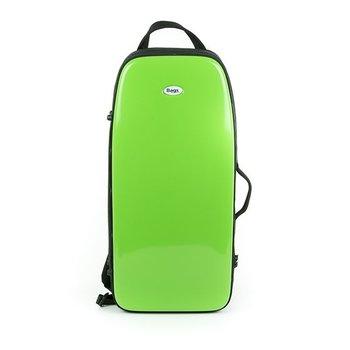 BAGS Altsaxophonkoffer – Farbe: grün glänzend