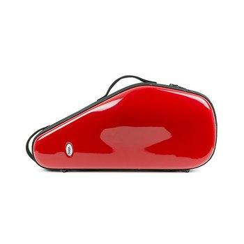 BAGS Altsaxophon Formkoffer – Farbe: rot glänzend