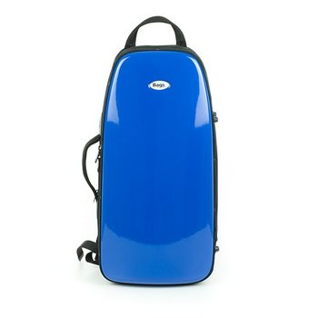BAGS Trompetenkoffer (Perinet) – Farbe: blau glänzend