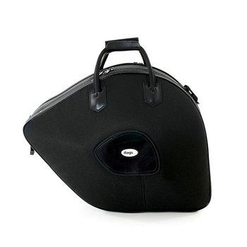 BAGS Waldhorn Formkoffer – schraubbarer Becher – Farbe: schwarz – Deckel 2 cm höher