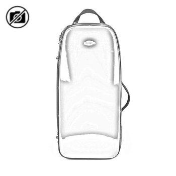 BAGS Altsaxophonkoffer – Farbe: weiß glänzend