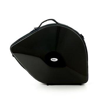 BAGS Waldhorn Formkoffer – schraubbarer Becher – Farbe: schwarz glänzend – Deckel 2 cm höher