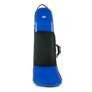 BAGS Bassposaunen Formkoffer – Zug 84 – Ø 27 – Farbe: blau glänzend