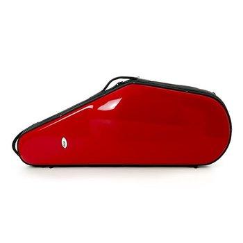 BAGS Tenorsaxophon Formkoffer – Farbe: rot glänzend