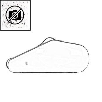 BAGS Tenorsaxophon Formkoffer – Farbe: weiß glänzend fusion