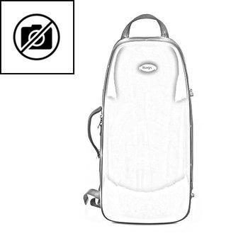 BAGS Trompetenkoffer (Perinet) – Farbe: weiß matt