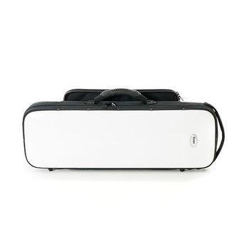 BAGS Sopransaxophonkoffer – 2-teilig – Farbe: weiß glänzend