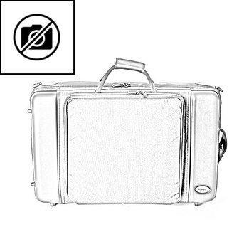 BAGS 4er Trompetenkoffer (Perinet/Zylinder) – Farbe: weiß glänzend