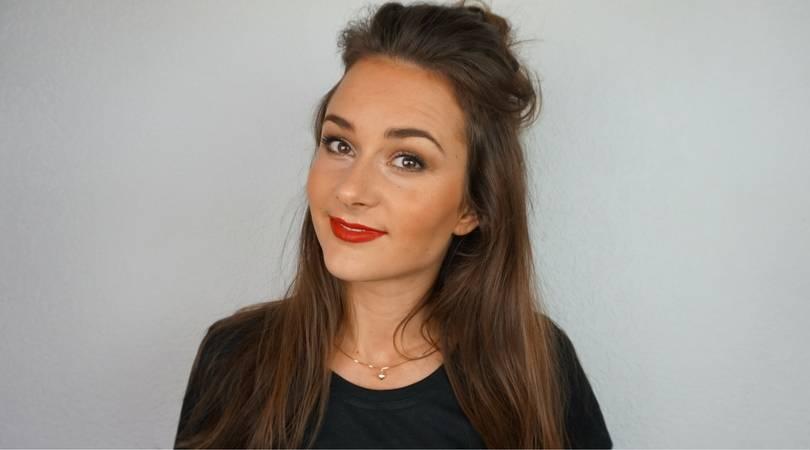Een winter make-up van Loes