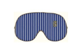 Travel Mask Blue Stripe