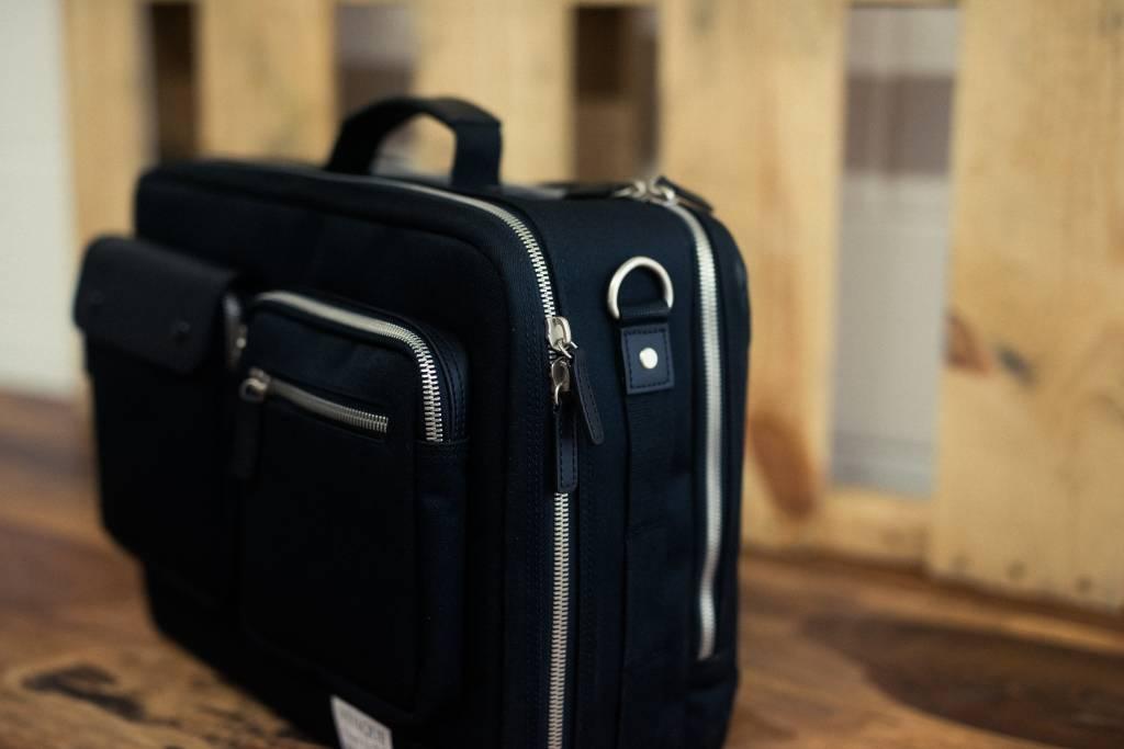 Venque Venque Briefpack XL Laptoptas Zwart BE