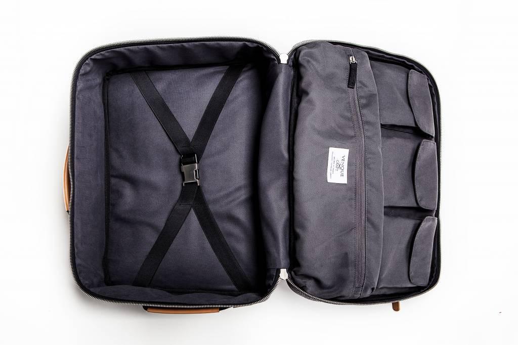 Venque Venque Briefpack XL Laptoptas Grijs BE