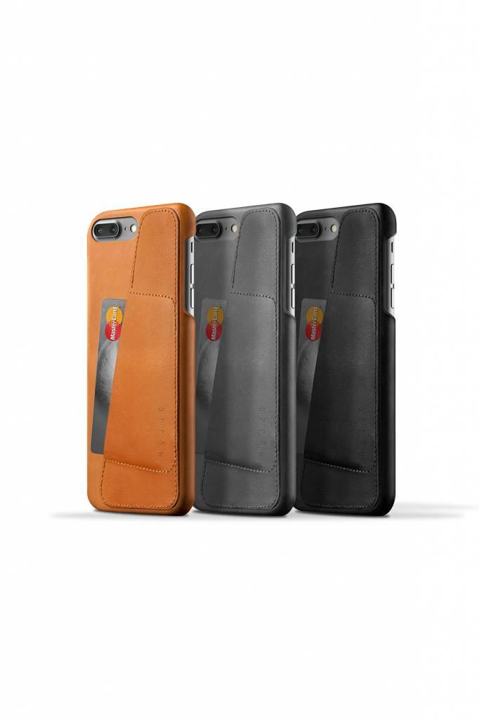Mujjo Mujjo Wallet Leren Hoesje voor iPhone 7 Plus Bruin