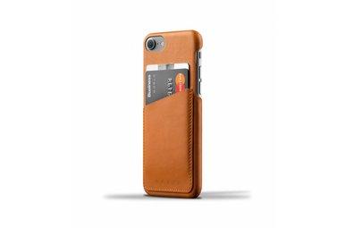 Mujjo Wallet Leren Hoesje voor iPhone 7 Bruin