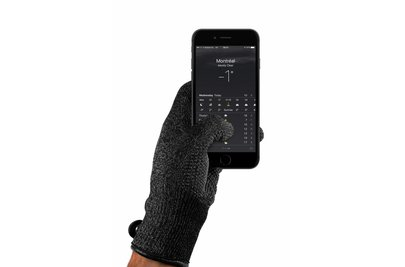 Mujjo Single-Layered Touchscreen Handschoenen Zwart