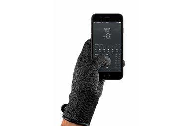 Mujjo Double-Layered Touchscreen Handschoenen Zwart