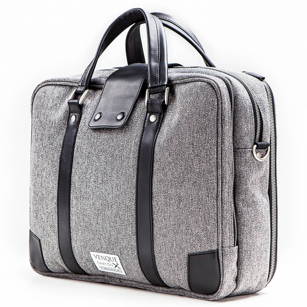 Venque Venque Hamptons Laptoptas Grijs BE