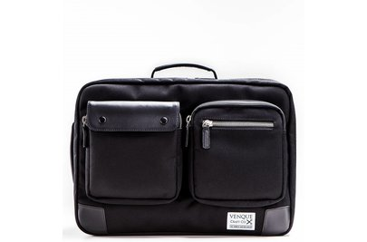 Venque Briefpack XL Laptoptas Zwart BE