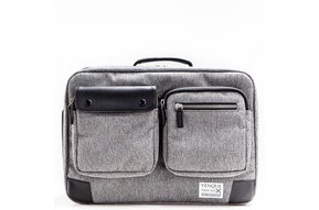 Venque Briefpack XL Laptoptas Grijs BE