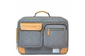 Venque Briefpack XL Laptoptas Grijs