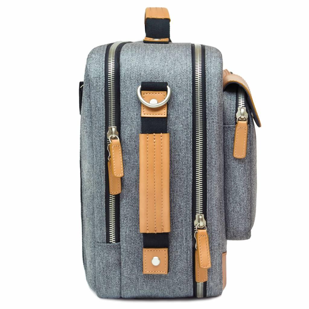 Venque Venque Briefpack XL Laptoptas Grijs