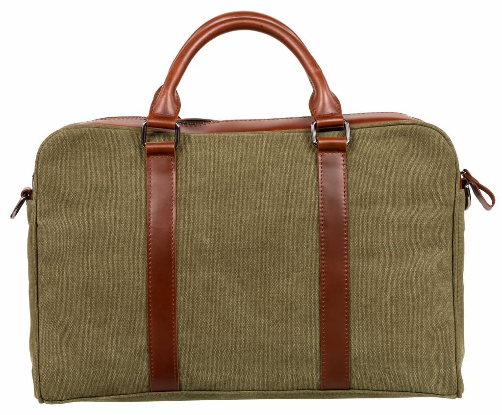 Nuts & Noble Nuts & Noble Ace Laptoptas Army Green