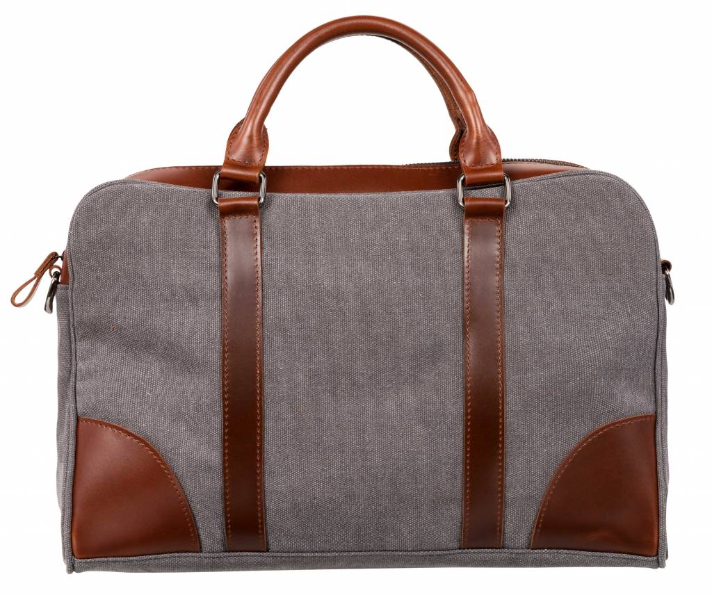 Nuts & Noble Nuts & Noble Ace Laptoptas Charcoal Grey