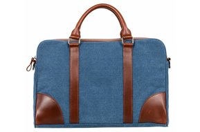 Nuts & Noble Ace Laptoptas Denim Blue
