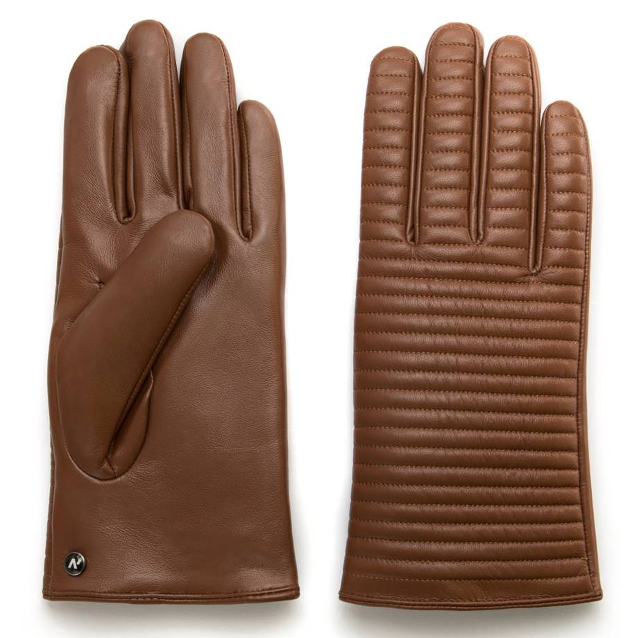 Napo Gloves napoHOMME Touchscreen Handschoenen Bruin