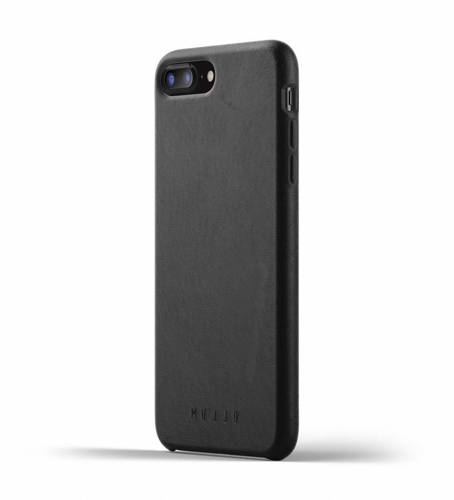 Mujjo Mujjo Case Leren Hoesje voor iPhone 7/8 Plus Zwart
