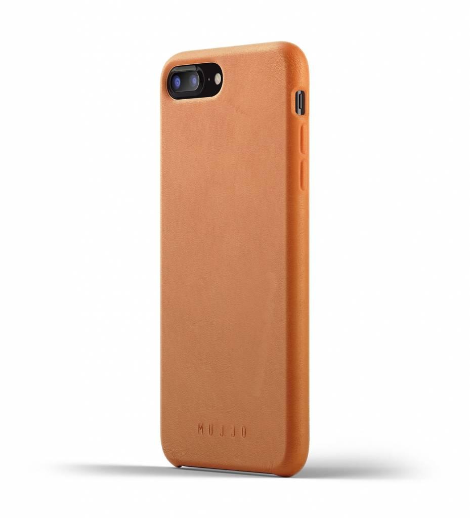 Mujjo Mujjo Case Leren Hoesje voor iPhone 7/8 Plus Bruin