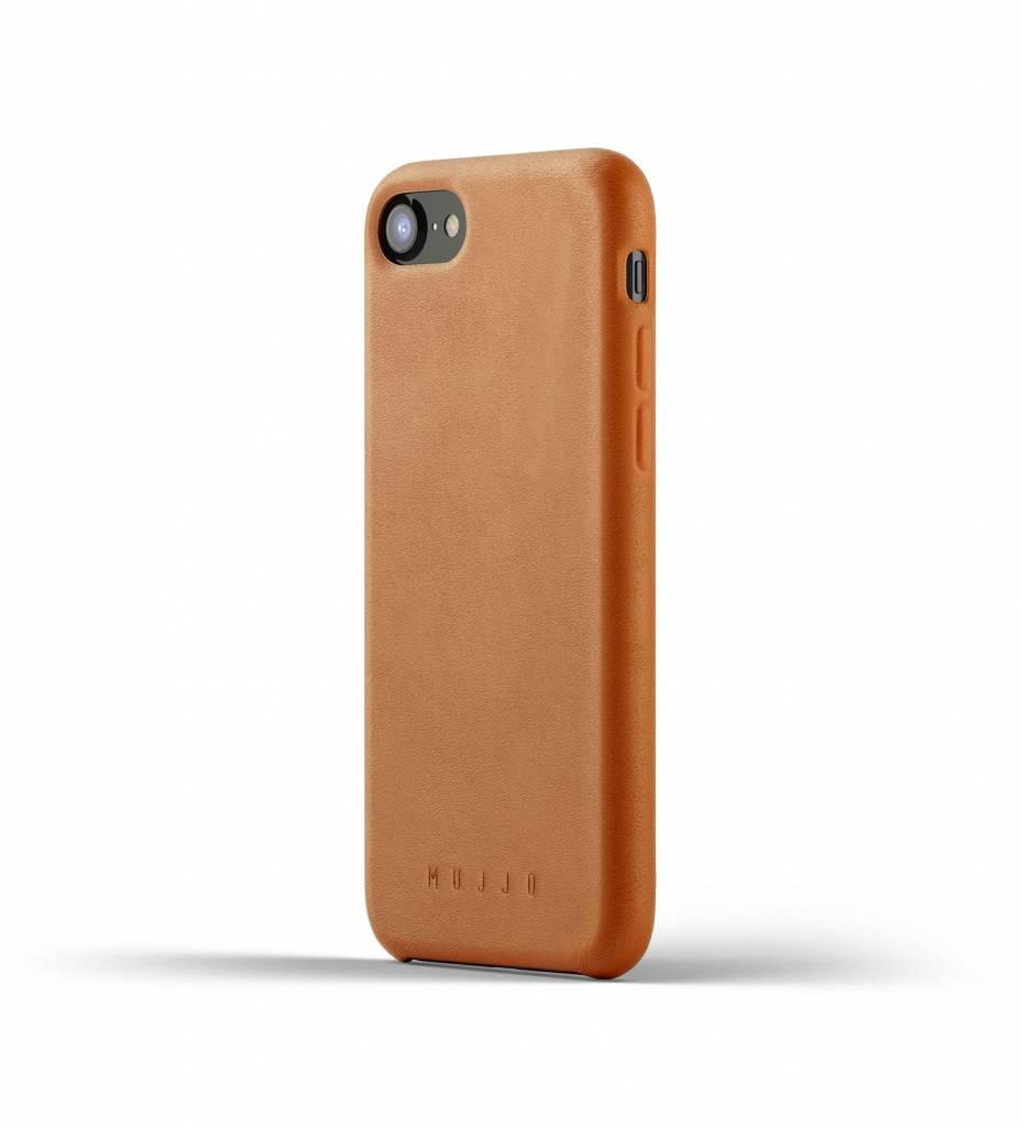 Mujjo Mujjo Case Leren Hoesje voor iPhone 7/8 Bruin