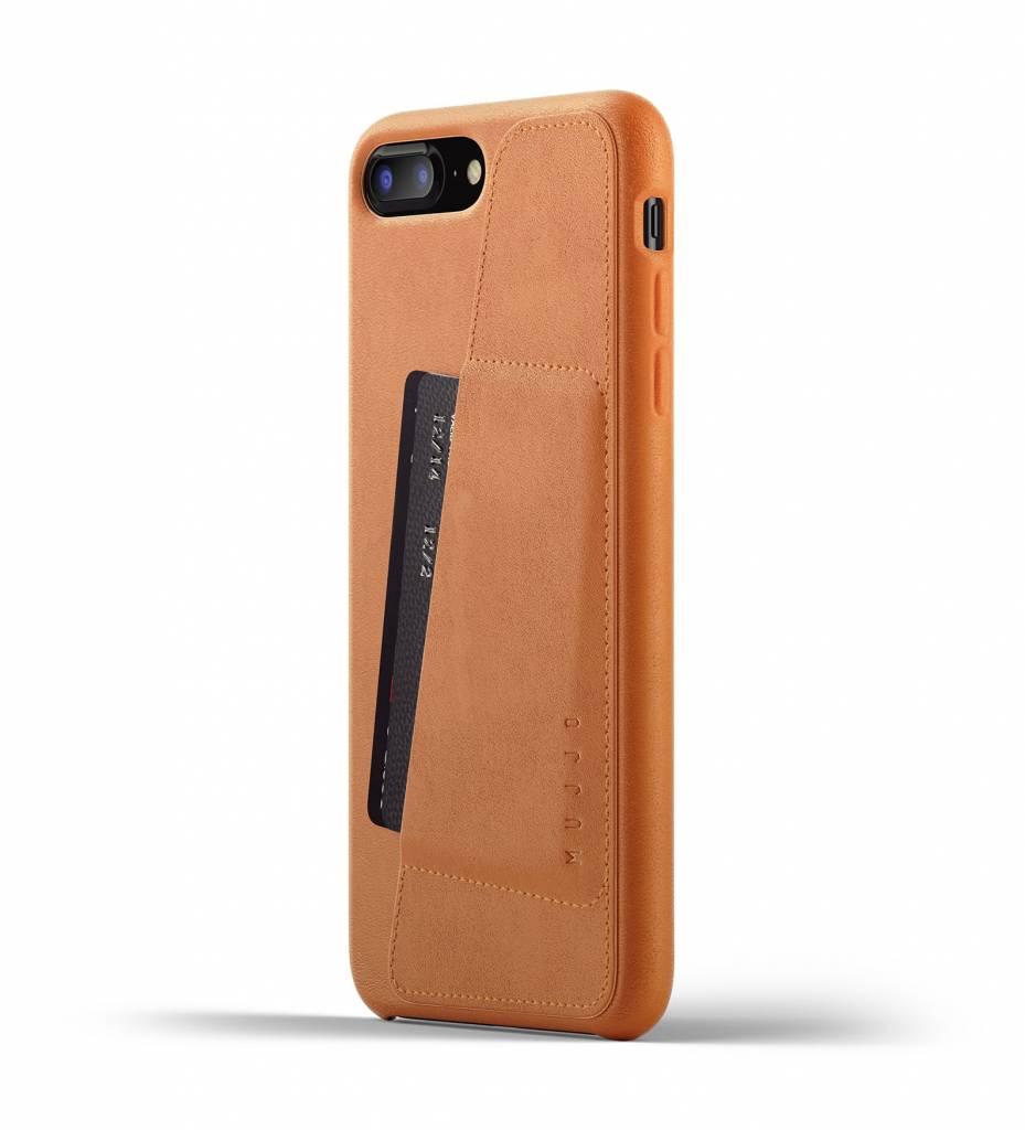 Mujjo Mujjo Wallet Leren Hoesje voor iPhone 7/8 Plus Bruin