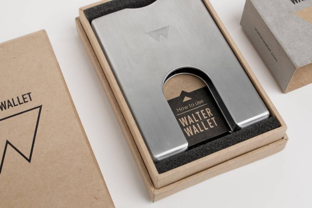 Walter Wallet Aluminium Walter Wallet Raw